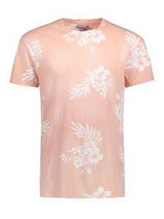 Jack & Jones T-shirt JOROCEAN TEE SS CREW NECK 12120920 Peach Beige/Regular Bo