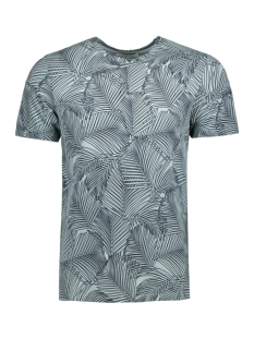 Jack & Jones T-shirt JPREASTON TEE SS CREW NECK 12121308 Gray Mist