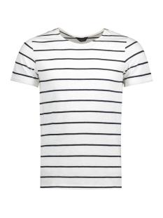 Jack & Jones T-shirt JPRHAYLEY TEE SS CREW NECK 12121614 Blanc de Blanc