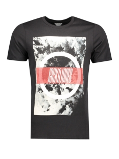 Jack & Jones T-shirt JCOMANGO-FIRE TEE SS CREW NECK CAMP 12120444 Black/Fire