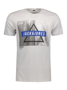 Jack & Jones T-shirt JCOMANGO-FIRE TEE SS CREW NECK CAMP 12120444 Mushroom/Mango