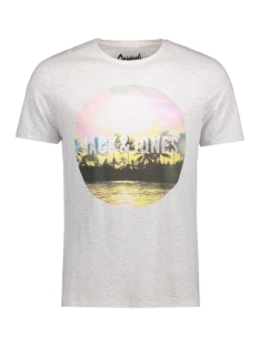 JORCREEK TEE SS CREW NECK 12120928 Cloud Dancer