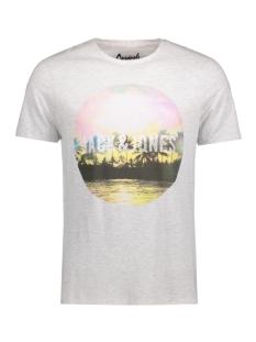 Jack & Jones T-shirt JORCREEK TEE SS CREW NECK 12120928 Cloud Dancer