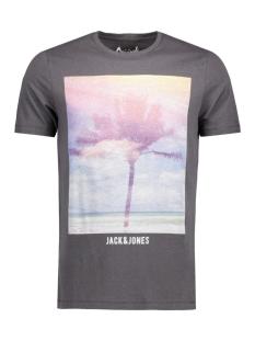 Jack & Jones T-shirt JORCREEK TEE SS CREW NECK 12120928 Asphalt