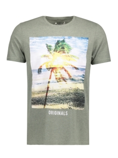 Jack & Jones T-shirt JORCREEK TEE SS CREW NECK 12120928 Lily Pad