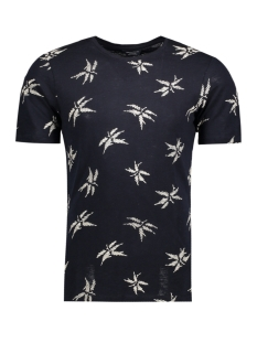 Jack & Jones T-shirt JPRMILTON TEE SS CREW NECK 12121641 Dark Navy