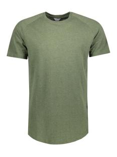 Jack & Jones T-shirt JCORAFE TEE SS CREW NECK NOOS 12123031 Rifle Green/REG MELANG