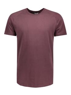 jcorafe tee ss crew neck noos 12123031 jack & jones t-shirt fudge/reg melang