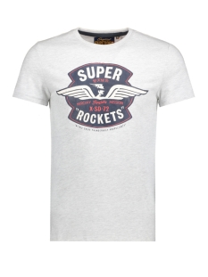 Superdry T-shirt M10008AND1 REWORKED 54G ICE MARL