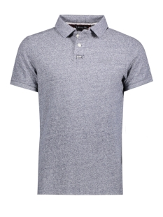 Superdry Polo M11000TNDS CLASSIC GRINDLE USF NAVY GRID