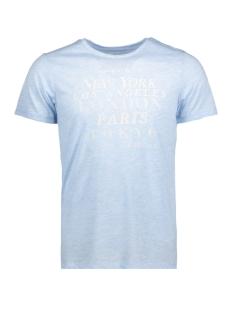 Jack & Jones T-shirt JPRFADE TEE SS CREW NECK EXP 12130934 Chambray Blue/Slim Fit