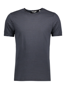 Only & Sons T-shirt onsALBERT STRIPE SS SLIM TEE NOOS 22006398 Black/Orion blue