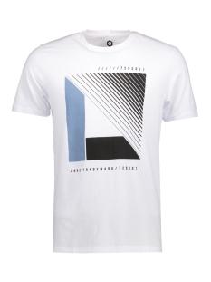 Jack & Jones T-shirt JCOBOOSTER TEE SS CREW NECK 006 12131128 White/Nor