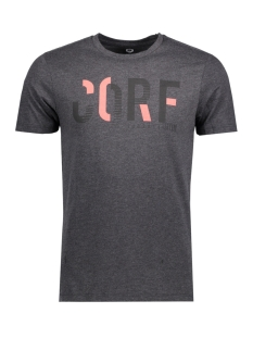 Jack & Jones T-shirt JCOBOOSTER TEE SS CREW NECK 006 12131128 Dark Grey Melange