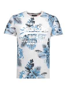 Superdry T-shirt M10013FO PREMIUM GOODS 54G ICE MARL