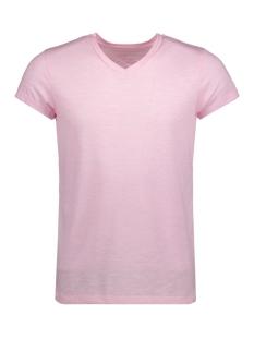Jack & Jones T-shirt JPRMUST TEE SS V NECK EXP 12130936 Prism Pink/Slim Fit M