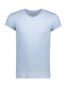 Jack & Jones T-shirt JPRMUST TEE SS V NECK EXP 12130936 Chambray Blue/Slim Fit