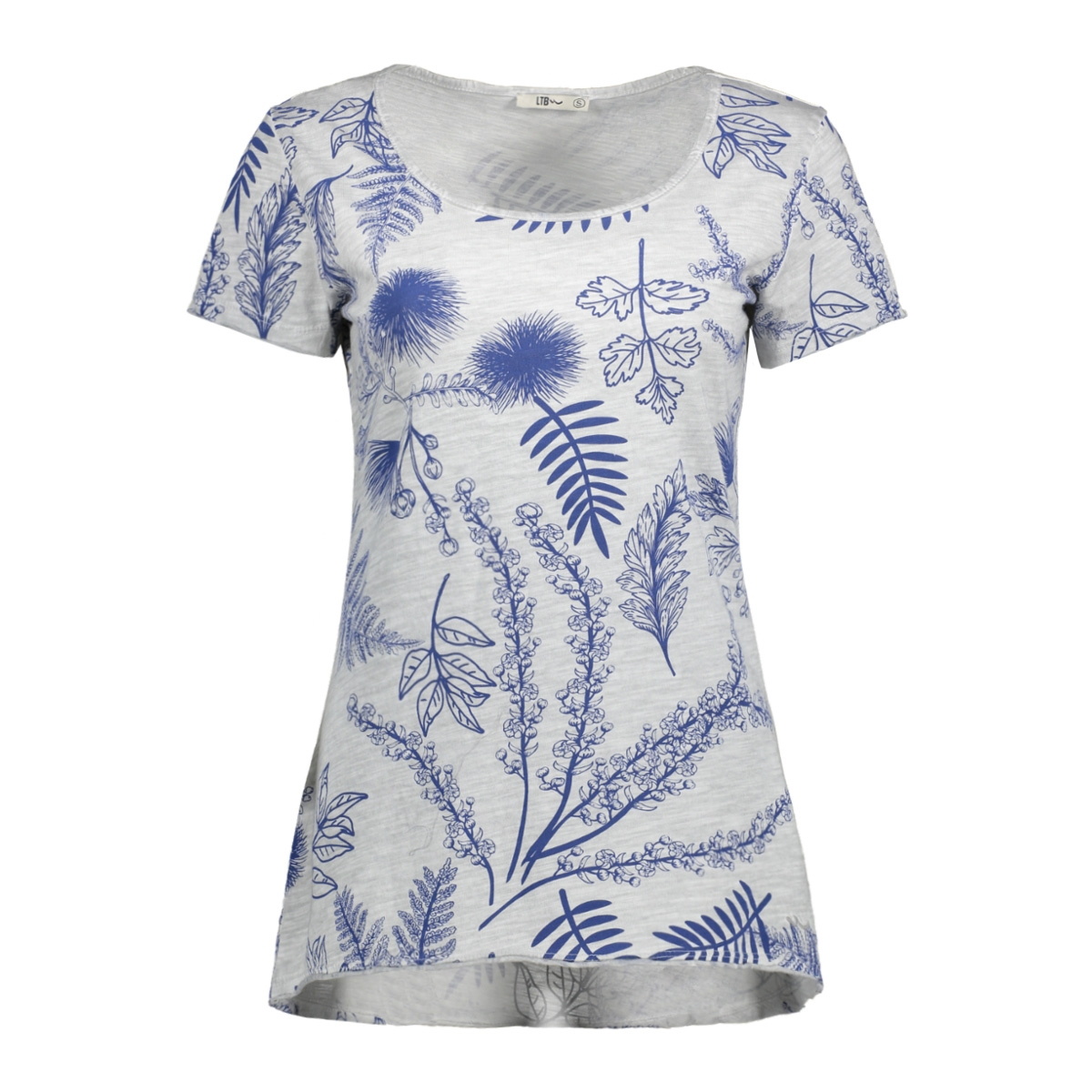 121780361.6143 ltb t-shirt greymel