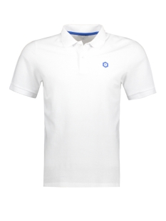 Jack & Jones Polo JCOBOOSTER POLO SS 06 12134008 White/Slim. Hex