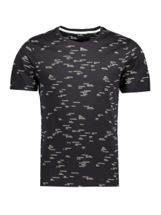 Only & Sons T-shirt onsANKER SS AOP TEE 22007485 Black