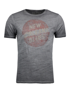 Jack & Jones T-shirt JJVBLUES TEE SS CREW NECK 12123170 Caviar/Slim Fit