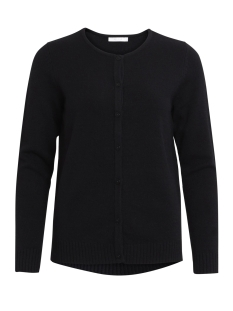 viril l/s knit cardigan-noos 14042767 vila vest black