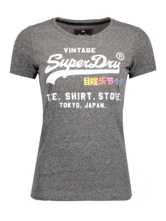Superdry T-shirt G10010HP RAINBOW POP KG7 Black