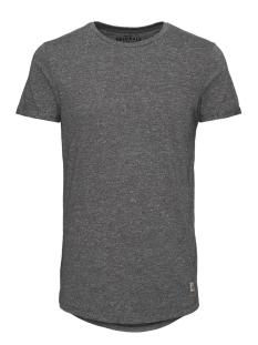 Jack & Jones T-shirt JORWILDER TEE SS CREW NECK 12111868 Asphalt/Melange