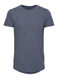 Jack & Jones T-shirt JORWILDER TEE SS CREW NECK 12111868 Total Eclipse/Melange