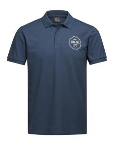 Jack & Jones Polo JORLEGEND POLO SS 12126279 Ensign Blue/Slim