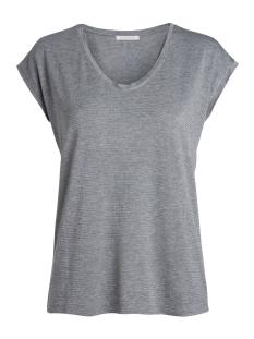 Pieces T-shirt PCBILLO TEE LUREX STRIPES NOOS 17078572 Light Grey Melange/ Lurex Grey