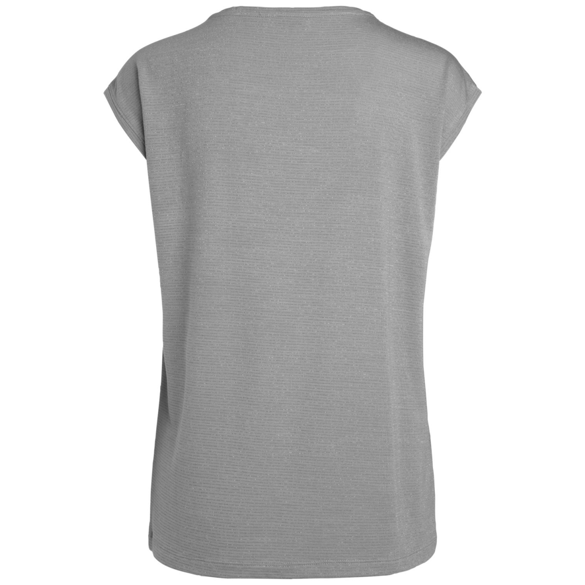 pcbillo tee lurex stripes noos 17078572 pieces t-shirt light grey melange/ lurex grey
