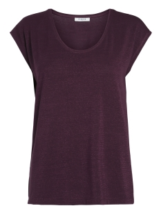 pcbillo tee lurex stripes noos 17078572 pieces t-shirt port royale/ lurex port
