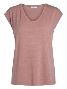 Pieces T-shirt PCBILLO TEE LUREX STRIPES NOOS 17078572 Ash Rose/ Lurex Ash