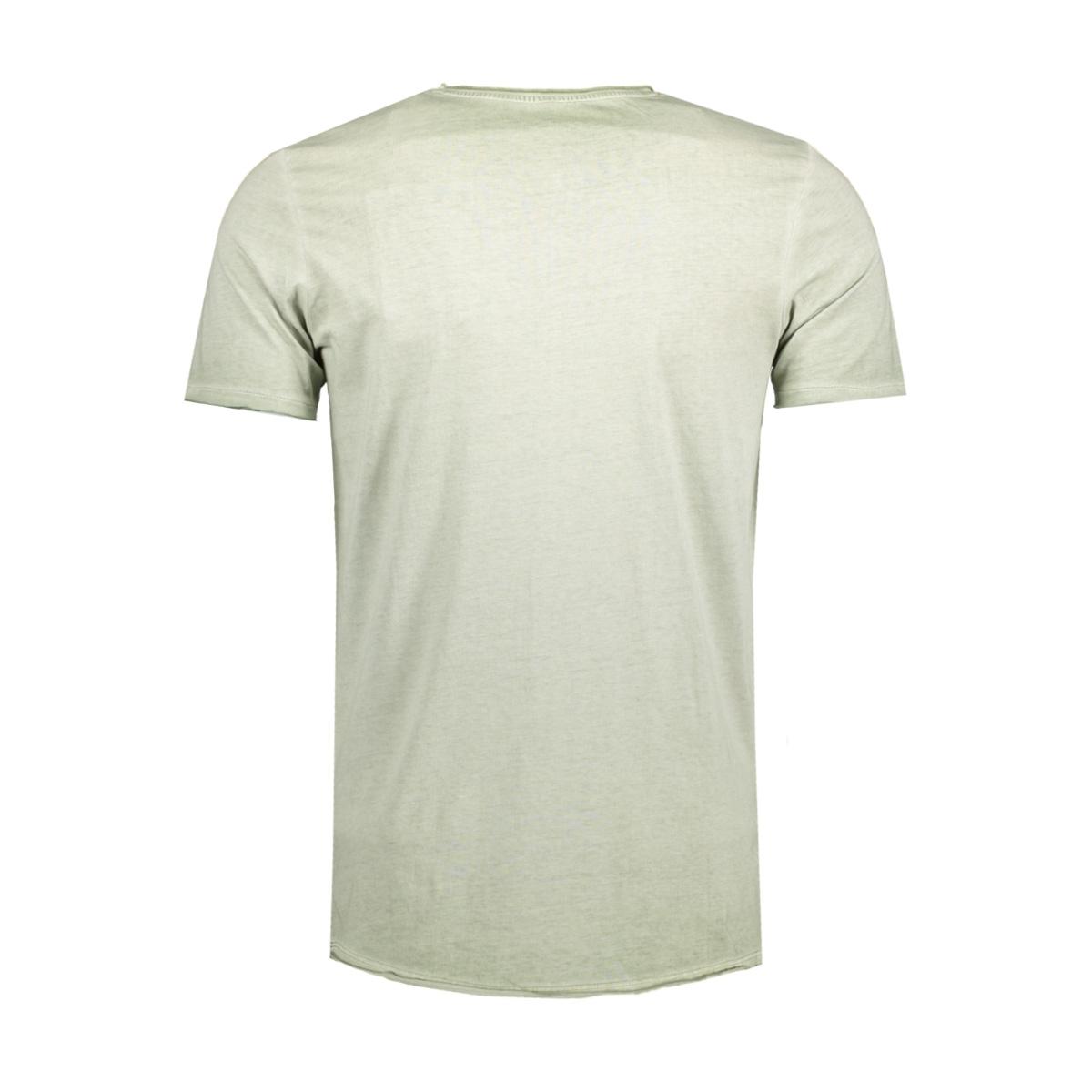 jjvjack ss tee crew neck noos 12103171 jack & jones t-shirt seagrass