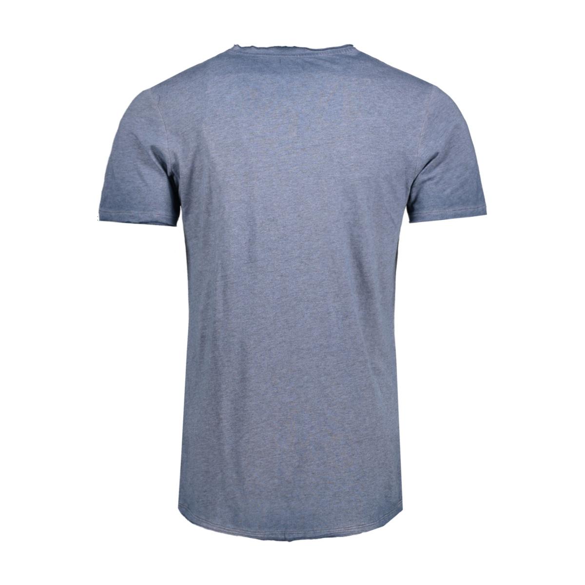 jjvjack ss tee crew neck noos 12103171 jack & jones t-shirt mood indigo