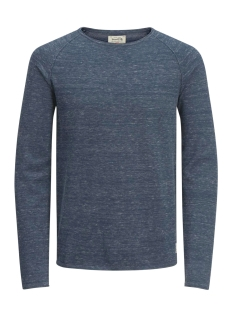 Jack & Jones Sweater jjvcUNION KNIT CREW NECK NOOS 12091541 Blue Nights/ Knit Fit