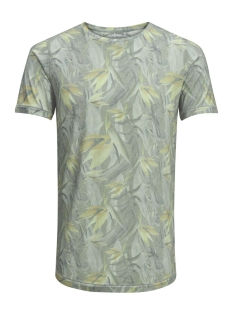 Jack & Jones T-shirt JJVFU TOBY SS TEE 12131830 Covert Green/ Slim Fit