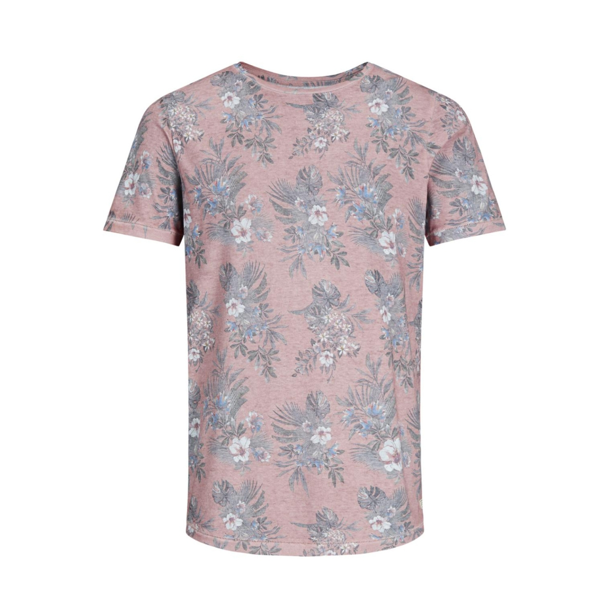 jjvfu toby ss tee 12131830 jack & jones t-shirt aragon/ slim fit
