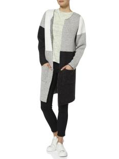 nmnina l/s long knit cardigan noos 27000778 noisy may vest light grey melange