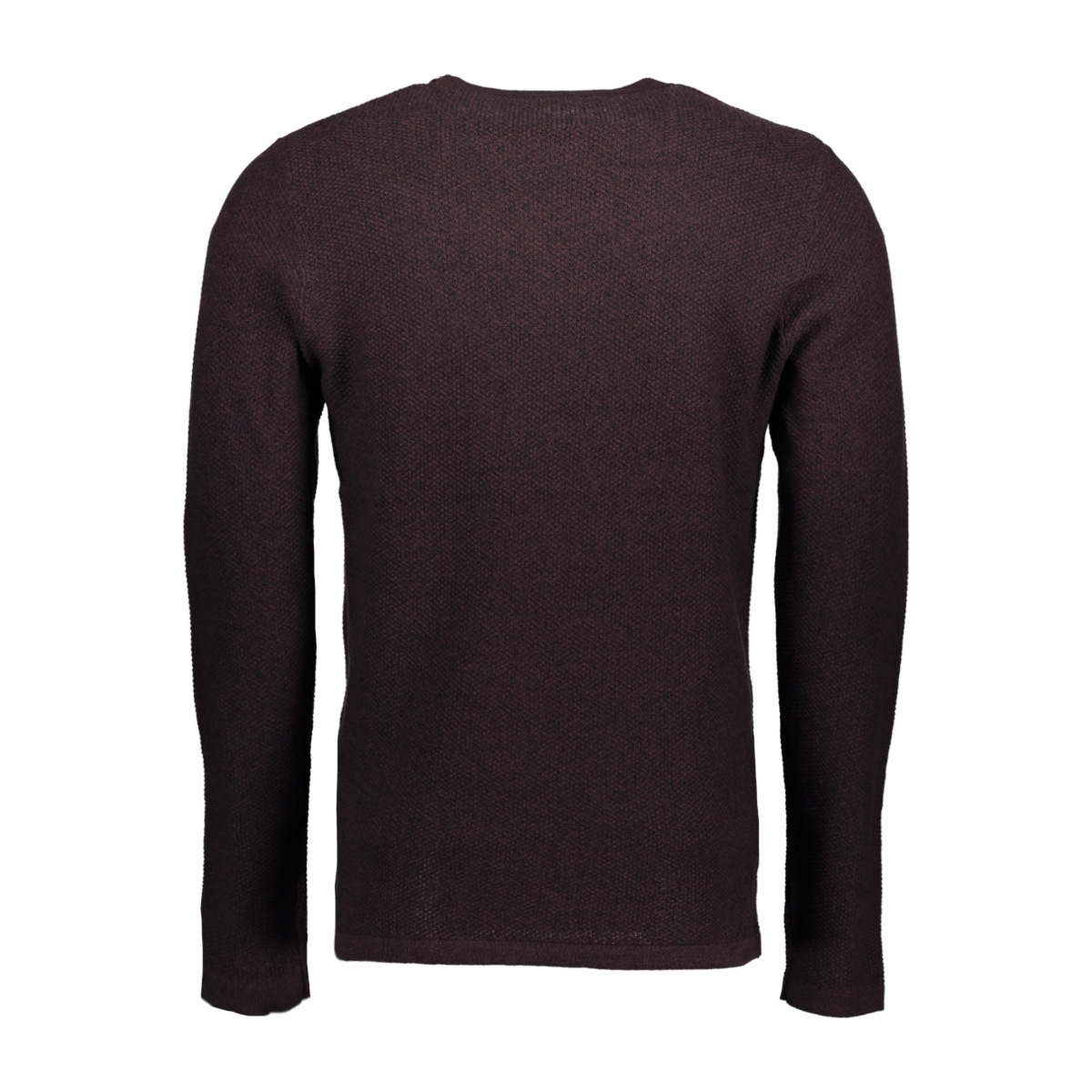 jprstory knit crew neck noos 12125929 jack & jones sweater fudge