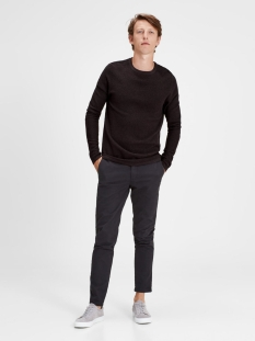 jprstory knit crew neck noos 12125929 jack & jones trui fudge