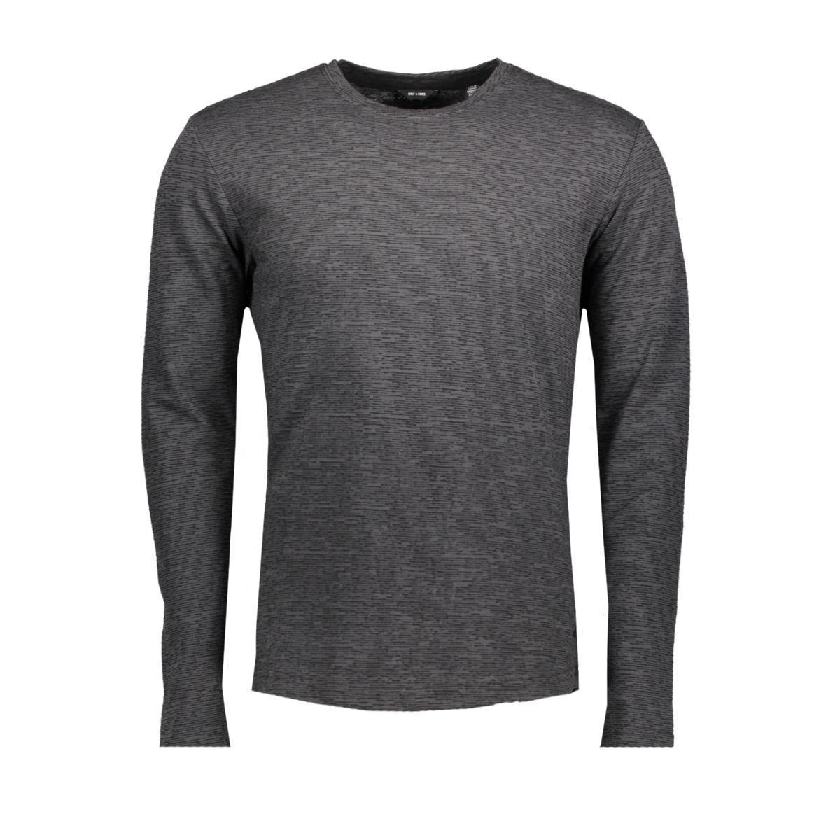 onsaway ls slim tee noos 22007511 only & sons t-shirt black