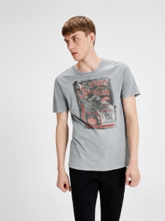 jjvvega tee ss crew neck 12123172 jack & jones t-shirt monument