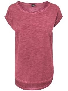 tb1196 tee burgundy urban classics t-shirt burgundy