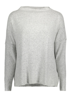 Only Trui onlKLEO L/S PLAIN PULLOVER KNT NOOS 15141720 Light Grey Melange