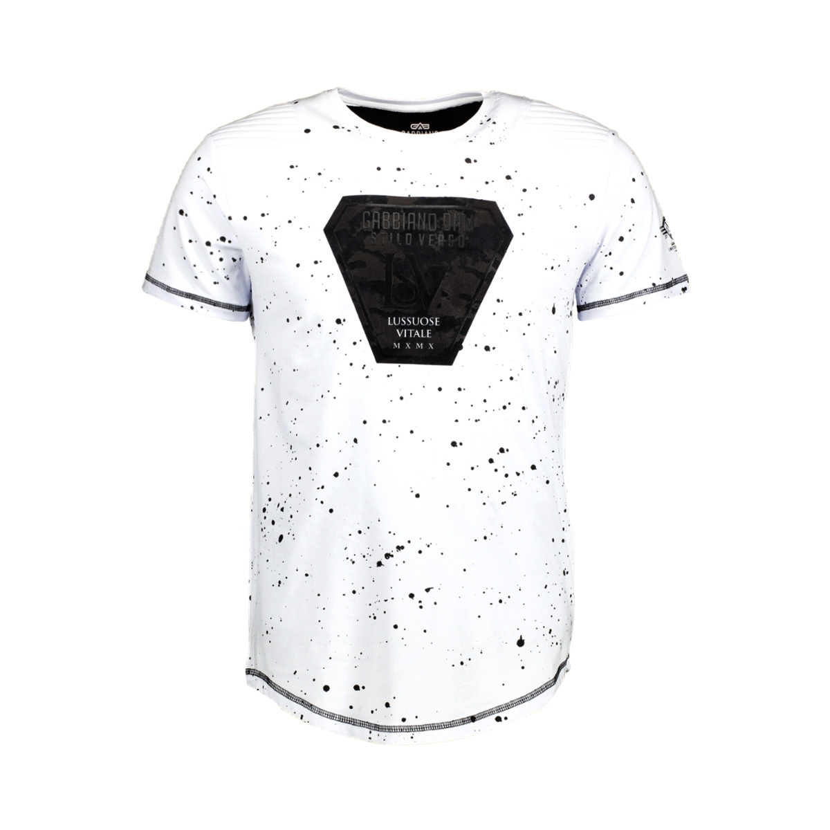 13843 gabbiano t-shirt wit