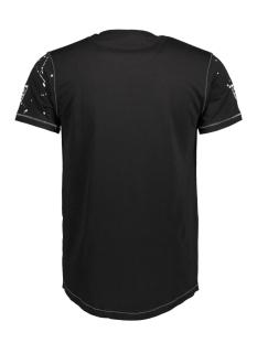 13837 gabbiano t-shirt zwart