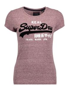 g10005xp vintge logo superdry t-shirt ii1 stripe