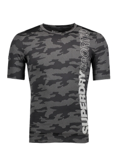 Superdry Sport shirt M10023PP SPORT FW7 CAMO